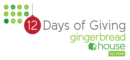 The Gingerbread House's 12 Days of Giving, Benefiting Autism McLean